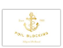 Businesscard-foiling