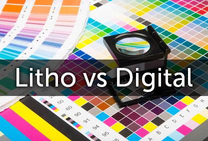 Litho vs Digital Printing