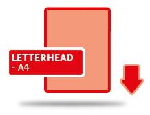 Letterheads---A4
